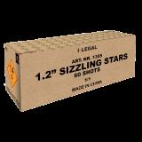 "1,2"" Sizzling Stars"