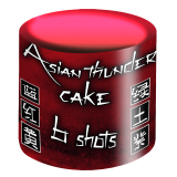Asian Thunder Cake per stuk